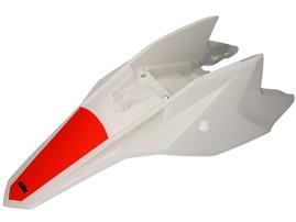 Крыло заднее белое KTM 50SX 2016