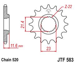 Звезда ведущая JTF583 15