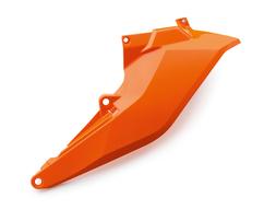 Боковина воздушного фильтра левая нижняя оранжевая KTM SX/SX-F 16-18 / EXC/EXC-F 17-19