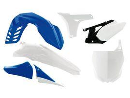 Комплект пластика сине-белый Yamaha YZ450F 10-13