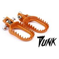 Подножки стальные оранжевые S3 Punk KTM / Husqvarna 17-21