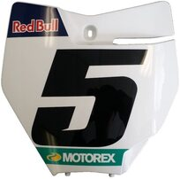 Щиток подномерной передний KTM SX/SX-F Factory Edition KTM 15-18