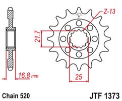 Звезда ведущая JTF1373 16