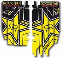 Наклейки на решетки радиаторов Suzuki RM-Z450 08-15
