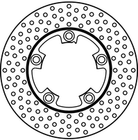 Диск тормозной задний Suzuki GSX-R600 97-00, TL1000 97-02, GSX-R1100 86-88