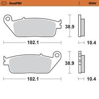 Колодки тормозные задние MOTO-MASTER (Sinter)