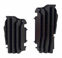 Решетка радиатора увеличенная черная Kawasaki KX450F 16-19