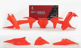 Комплект пластика KTM SX125-250/SXF250-450/XC/XC-F250-450 19-20 # SXF450FE 18 оранжевый неон