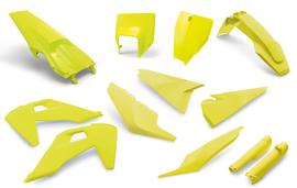 Комплект желтого пластика Husqvarna TE/FE 20-22