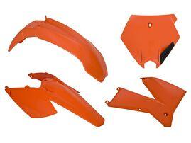 Комплект пластика KTM SX-SXF 125-525 05-06 # EXC-EXCF125-525 05-07 оранжевый