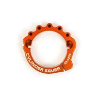 Защита выпускного фланца оранжевая KTM / Husqvarna