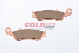 Тормозные колодки дисковые передние Yamaha YZ/YZ-F/WR 248 S33