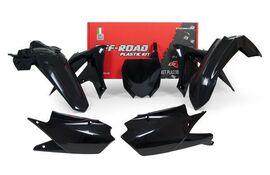 Комплект пластика черный Yamaha YZ250F 19-20 / YZ450F 18-20