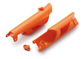 Защита перьев вилки оранжевая KTM SX/SX-F 08-14; EXC/EXC-F 08-15