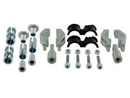 Крепеж защиты рук алюминиевый гибкий D22-28