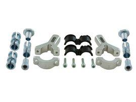 Крепеж защиты рук алюминиевый D22-28