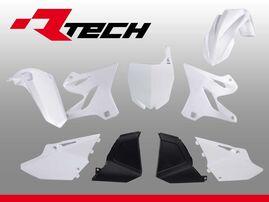 Комплект пластика белый Yamaha YZ125-250 02-20