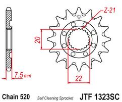 Звезда ведущая самоочищающаяся 14 зубов Honda CR125 / CRF250R-X JT