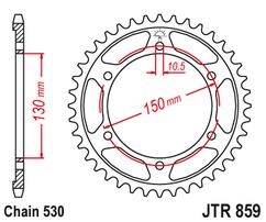 Звезда ведомая JTR859 49