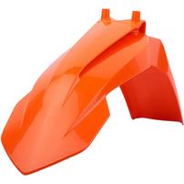 Крыло переднее оранжевое KTM 65SX 16-21