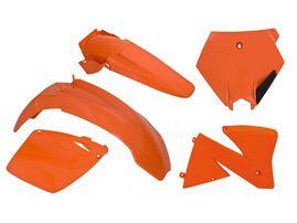 Комплект пластика KTM SX-SXF400-520 00 # EXC-EXCF 125-520 00-02 оранжевый