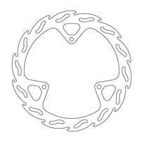 Диск тормозной передний Flame KTM SX65 02-20/Husqvarna TC65 17-20 MOTO-MASTER 110240