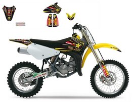 Набор наклеек Suzuki RM85 02-15 Rockstar Energy