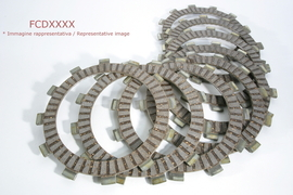 Комплект дисков сцепления фрикционных Yamaha YZ426F 00-01/YZ450F 03-06 Ferodo