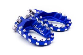 Подножки регулируемой высоты алюминиевые синие S3 Hard Rock KTM 07-16 / Husaberg 11-16 / Husqvarna 14-16 / Beta -19 / Sherco / Gas Gas / Yamaha