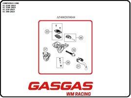 Главный цилиндр сцепления в сборе (Braktec) GasGas EC/EC-F 21-