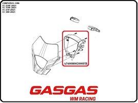 Каркас крепления фары GasGas EC/EC-F 21-