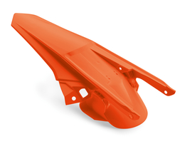 Крыло заднее оранжевое KTM EXC, EXC-F 17-19