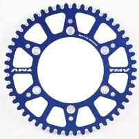 Звезда ведомая алюминиевая синяя 49 зубов Yamaha YZ/WR 99-20 TMV