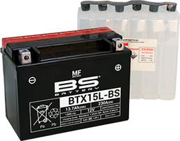 Аккумулятор BTX15L-BS/YTX15L-BS