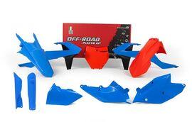 Комплект пластика KTM SX125-150/SXF250-450 16-18 # SX/XC-F/XC250-450 17-18 Оранжевый/Винтаж Голубой