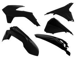 Комплект пластика KTM EXC-EXCF125-500 14-16 черный