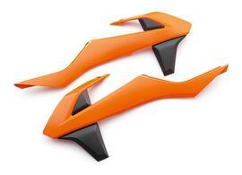 Боковины радиатора оранжево-черные KTM SX/SX-F 16-18