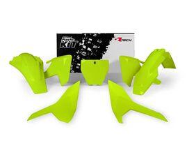 Комплект пластика Husqvarna TC125/FC250-450 16-18 # TC-TX250-300/FS-FX350-450 17-18 Neon Yellow