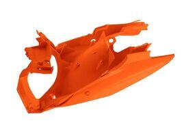 Боковины задние с корпусом  возд. фильтра KTM SX/SXF 13-15 # SX250 13-16 # EXC-EXCF 12-16 оранжевые