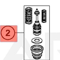 Ремкомплект главного тормозного цилиндра заднего Husqvarna TC, FC / TE, FE 18-21