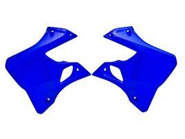 Боковины радиатора YZ-WR125-250 96-01 синие